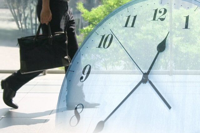 時間と戦うサラリーマン